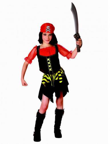 Costume pirata dei mari per bambina