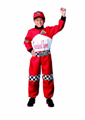 Costume pilota da corsa bambino