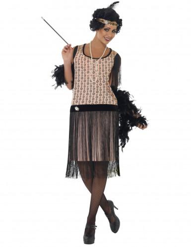 bambino stile attraente scarpe classiche Costume anni 20 Charleston per donna