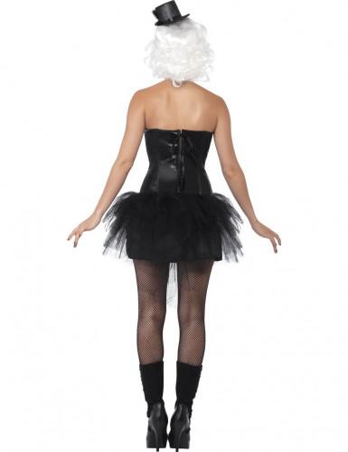 Costume scheletro con tulle donna Halloween-2