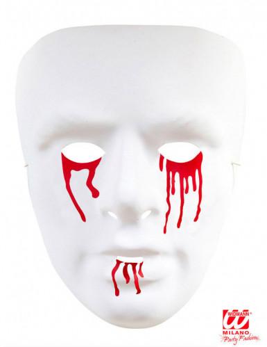 Maschera lacrime insanguinate uomo-1