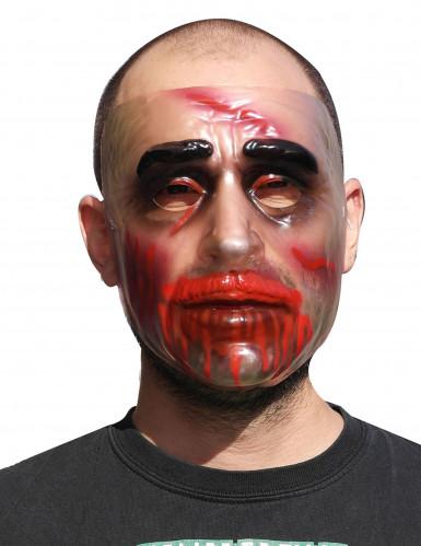 Maschera trasparente halloween uomo