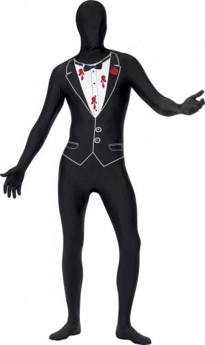 Costume seconda pelle da ballo adulto halloween