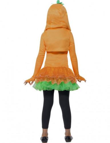 Costume zucca tutù bambina Halloween-2
