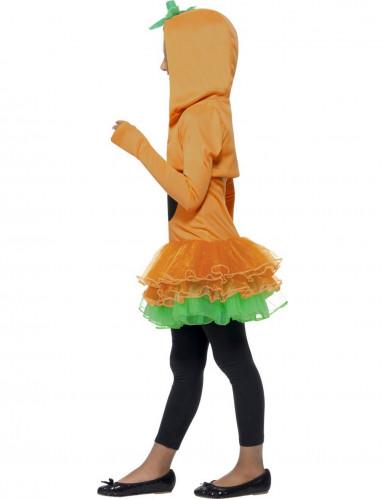 Costume zucca tutù bambina Halloween-1