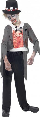 Costume zombie sposo bambino Halloween