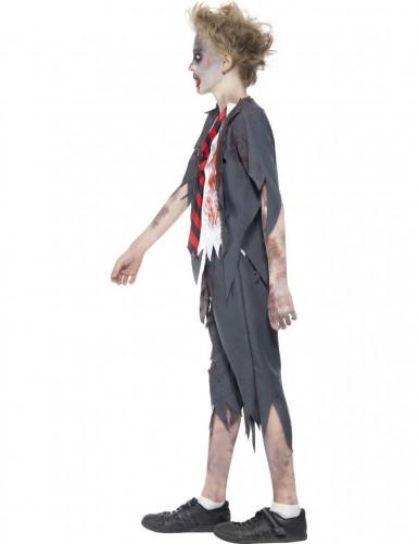 Costume zombie studente bambino Halloween-1