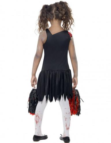Costume zombie pom pom bambina Halloween-2