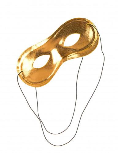 Maschera oro metallizzata adulto-1