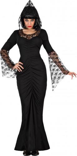 Costume strega nera donna Halloween