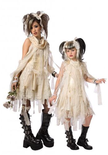 Costume da coppia mummia gotico mamma e figlia