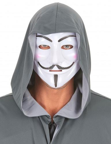 Maschera d'anonimo per adulto