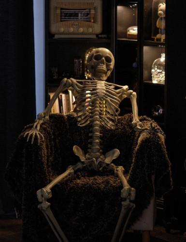Decorazione da appendere scheletro Halloween-1