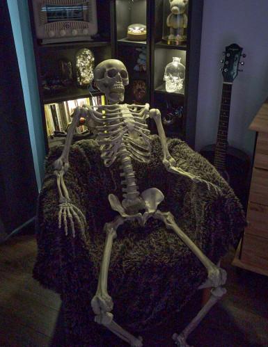 Decorazione da appendere scheletro Halloween-2