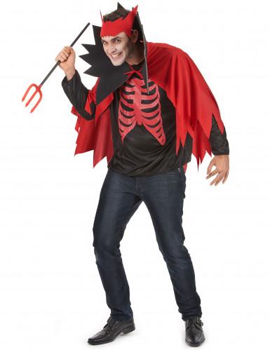 Costume diavolo rosso Halloween-1
