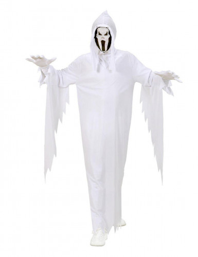 Costume spaventoso fantasma bambino Halloween