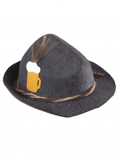 Cappello bavarse grigio adulto-1