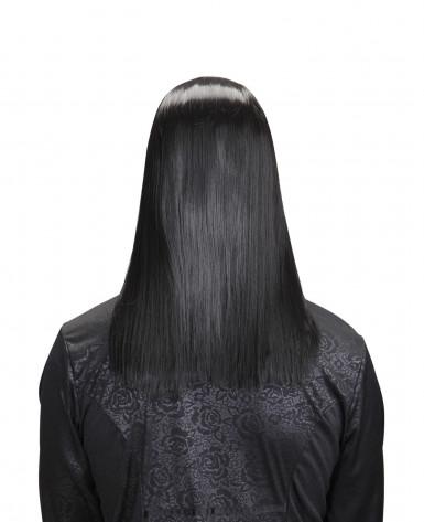 Parrucca vampiro nero adulto halloween-1