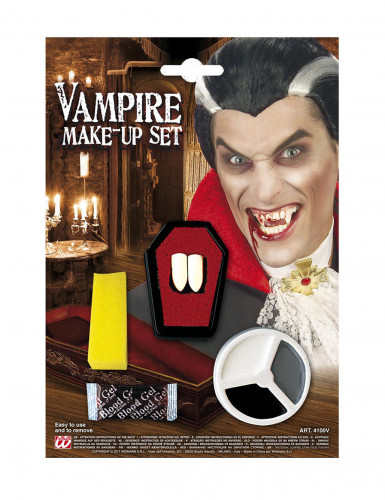 Set trucco vampiro adulto Halloween