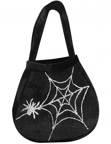 Borsa di tela ragno adulto Halloween