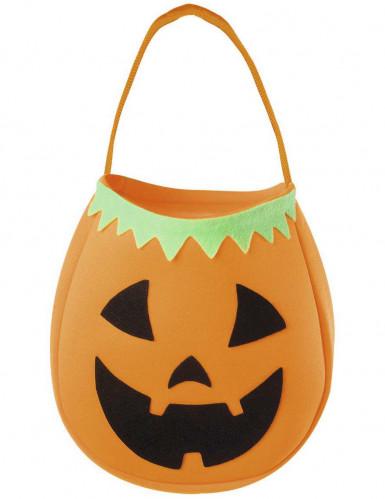 Borsa zucca Halloween per bambini