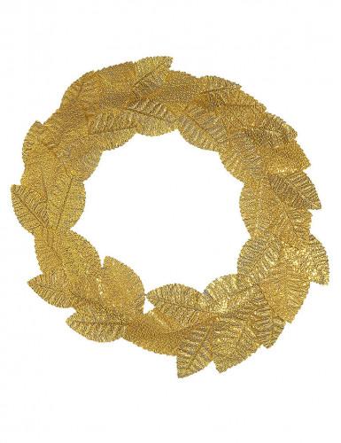 Corona d'alloro dorata adulto-1