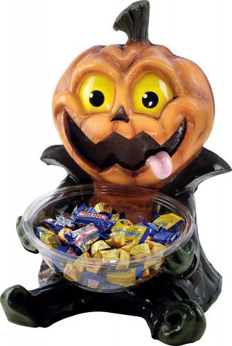 Porta caramelle zucca di Halloween