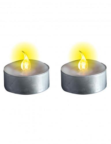 Candele luminose a pile