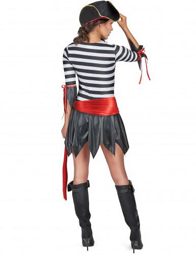 Costume pirata con minigonna donna-2