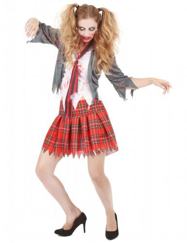 Costume zombie alunna Halloween