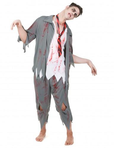 Costume zombie studente adulto