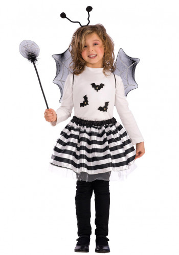 Set accessori pipistrello bambina Halloween