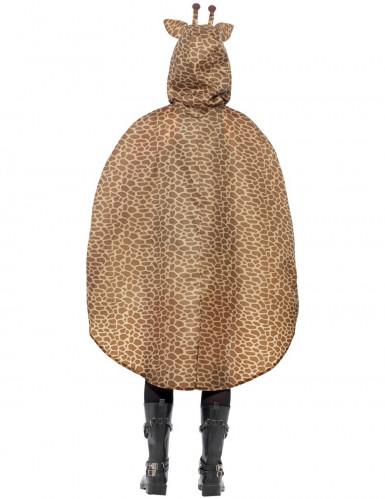 Poncho giraffa adulto-1