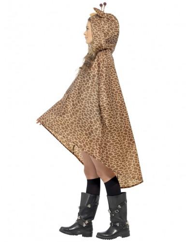 Poncho giraffa adulto-2
