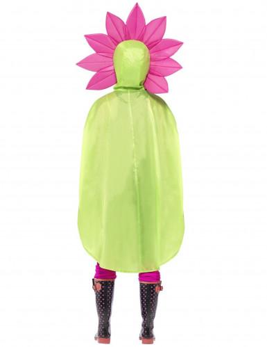 Poncho fiore adulto-2