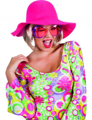 Cappello estivo rosa