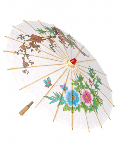 Ombrello cinese bianco