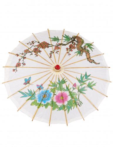 Ombrello cinese bianco-1