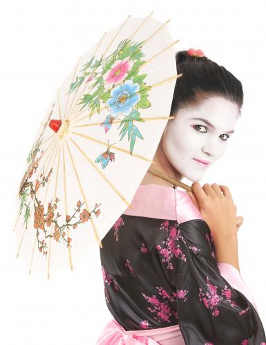 Ombrello cinese bianco-2