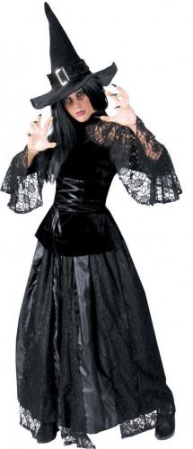 Costume strega nera da donna