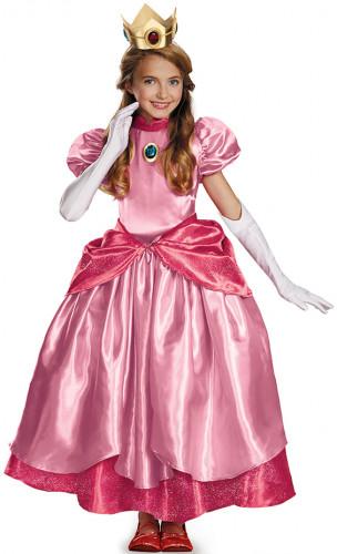 Costume da Principessa Peach™ prestige per bambina
