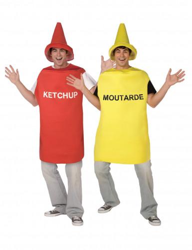 Costumi coppia ketchup e senape