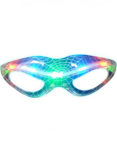 Occhiali luminosi trasperenti tela di ragno