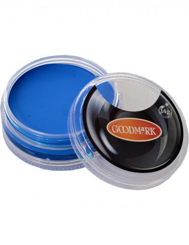 Trucco ad acqua blu