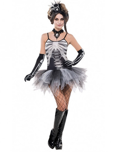 Costume scheletro sexy donna