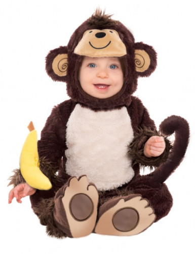 Costume neonato da scimmietta