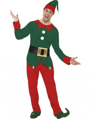 Costume da elfo adulto Natale