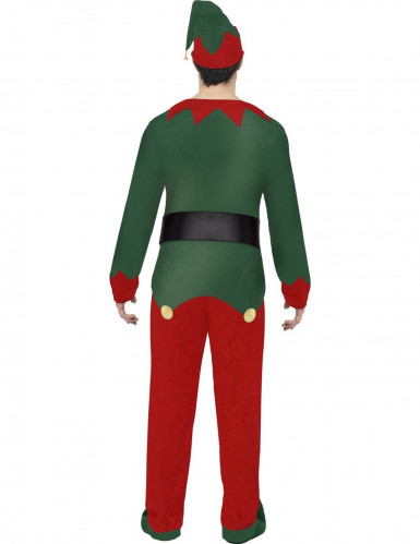 Costume da elfo adulto Natale-1
