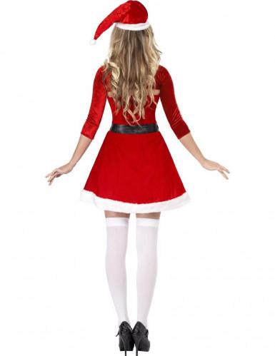 Costume Mamma Natale adulto con bolerino-1