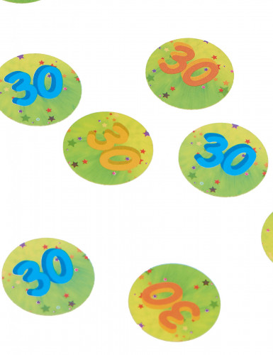 150 coriandoli da tavola 30 anni